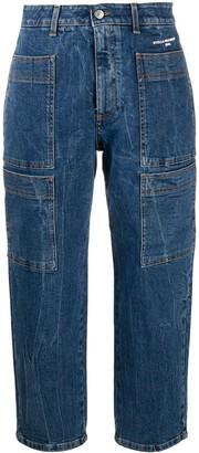 Stella McCartney Cropped Multi-Pocket Jeans