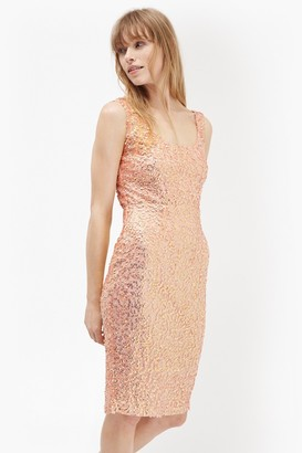 French Connection Celia Sequinned Bodycon Dress