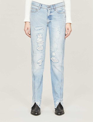 Zadig & Voltaire Erini mid-rise denim jeans