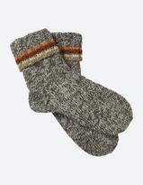 Fat Face Stripe Knit Bed Socks