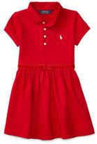 Ralph Lauren Girls 2-6x Short Sleeve Polo dress