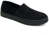 Bamboo Black Knit Grand Slam Slip-On Sneaker