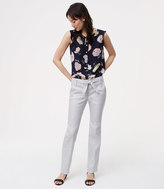 LOFT Tall Belted Relaxed Ankle Pants