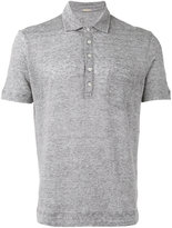 Massimo Alba striped polo shirt - men - Linen/Flax - S