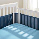 BreathableBaby Breathable Baby Mesh Crib Liner - True Navy