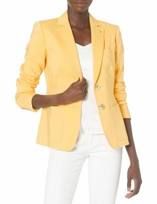 Tommy Hilfiger Women's Stripe Two-Button Jacket