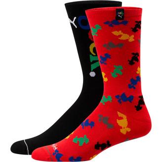 Puma x FASHION GEEK Men's Crew Socks [2 Pack]