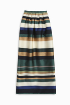 Rosetta Getty Striped Column Skirt