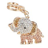 Idealhere Crystal Lucky Rhinestone Charms Pendant Key Chains Cute Purse Bag Gifts New