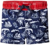 Mud Pie Shark Swim Trunks Boy's Swimwear