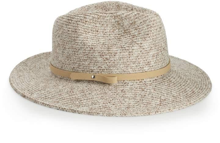 5e8f4d58 Leather Panama Hat - ShopStyle