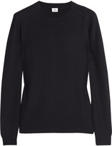 Iris & Ink Rib-detailed cashmere sweater