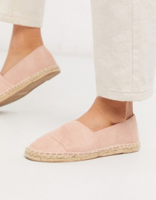 South Beach espadrilles in blush