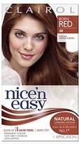 Clairol Nice'n Easy Permanent Hair Dye 111/5R Natural Medium Brown Auburn