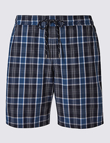 M&s Collection Big & Tall Cotton Rich Quick Dry Swim Shorts