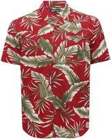 M&Co Tropical leaf print shirt