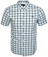 Fred Perry Classic Gingham Shirt Blue