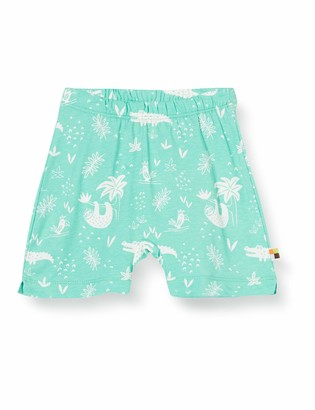 loud + proud Baby Girls' Shorts Allover Print Organic Cotton