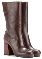 Calvin Klein Collection Bennet Leather Boots