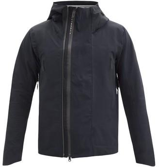 Descente Active Shell Hooded Waterproof Jacket - Black