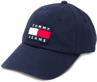 Tommy Hilfiger Panelled Logo Embroidered Cap