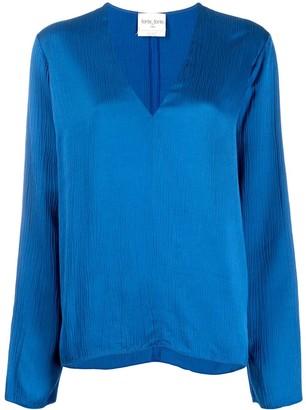 Forte Forte V-neck blouse