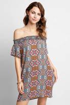 Glam Off-Shoulder Pocket Dress