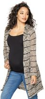 A Pea in the Pod Splendid Hooded Maternity Cardigan