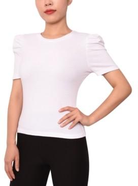 Derek Heart Juniors' Puff-Sleeve T-Shirt