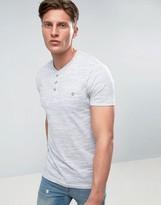 Brave Soul Pocket Henley T-Shirt