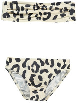 Douuod Sale - Copione Leopard 2P Bandeau Swimsuit