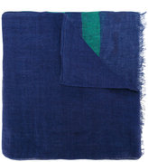 Church's striped scarf - men - Linen/Flax - One Size