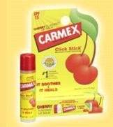Carmex Cherry Flavor Moisturizing Lip Balm Stick SPF 15 by Carma Laboratories, Inc.