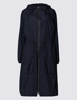 M&S Collection Parka Coat with StormwearTM