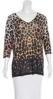 Temperley London Printed Long Sleeve Top