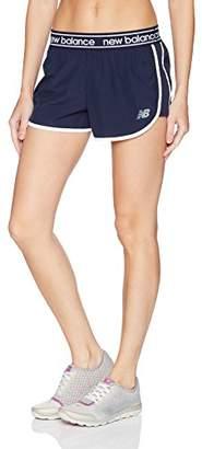 "New Balance Women's 2,5"" Accelerate Short,S"
