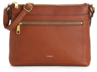 Fossil Evie Leather Crossbody Bag