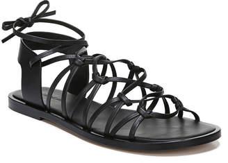 Vince Palmera Flat Leather Gladiator Sandals