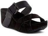 Chocolat Blu Matdge Platform Wedge Sandal