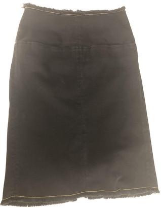 Aries Black Denim - Jeans Skirts