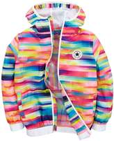 Converse Girls Stripe Packable Jacket