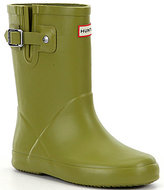 Hunter Kids' Flat Sole Waterproof Rain Boots