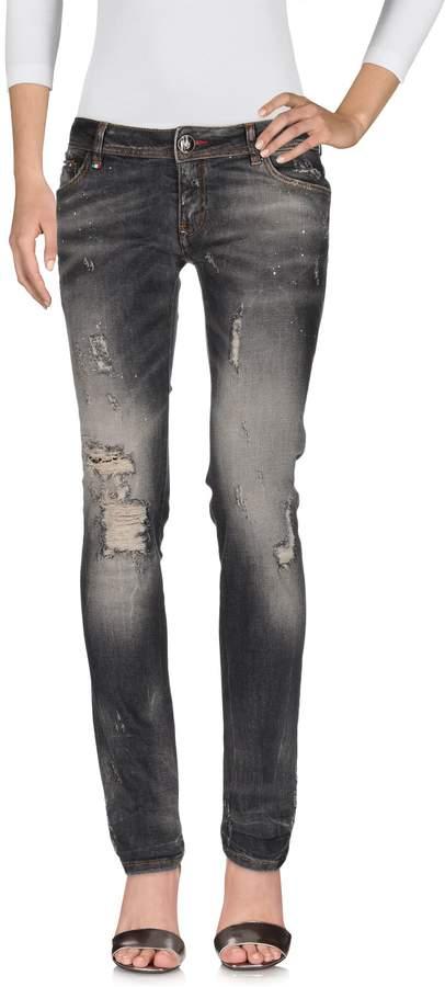 Philipp Plein Denim pants - Item 42576450IJ