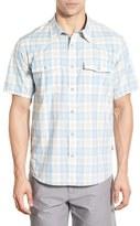 Patagonia 'Bandito' Slim Fit Plaid Short Sleeve Sport Shirt