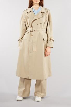 Aida - Lovechild Sand Tatianna Military Style Coat - 36