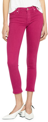 Hudson Nico Mid-Rise Cropped Skinny Jeans