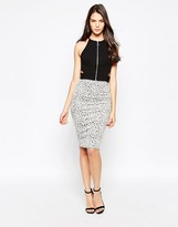 Oh My Love Midi Skirt in Jacquard Knit