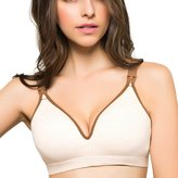 Aivtalk Women's Wirefree Breastfeeding Bra Maternity Nursing Bra - XL