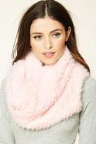 Forever 21 FOREVER 21+ Faux Shearling Infinity Scarf