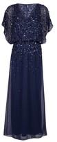 Dorothy Perkins Womens Showcase Navy Danielle Maxi Dress